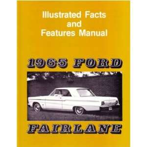 1965 FORD FAIRLANE Facts Features Sales Brochure Book