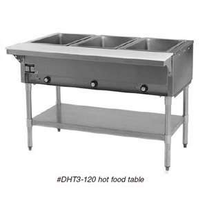 Volts Eagle Group DHT2 2 Open Well Electric Steam Table Appliances
