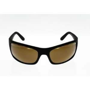 Maui Jim Sunglasses 202 Peahi Brown Lens, Black, 1 pr