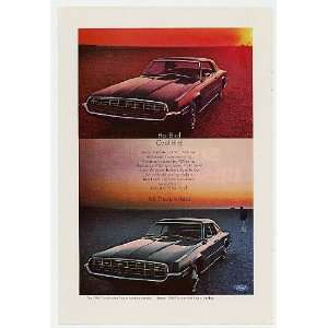 1968 Ford Thunderbird Landau 2 Door 4 Door Hot Cool Print