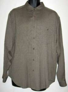 Tommy Bahama Casual Silk Shirt Green Button Down Mens M