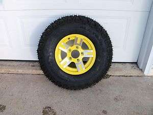 NEW JOHN DEERE GATOR TIRE/RIM XUV 620 AND 850