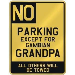 FOR GAMBIAN GRANDPA  PARKING SIGN COUNTRY GAMBIA