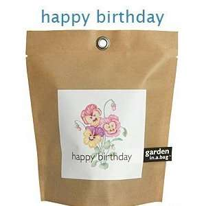 Happy Birthday Gardens in a Bag Patio, Lawn & Garden
