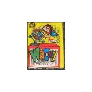 1992 O Pee Chee Wacky Packages Unopened Trading Cards Pack