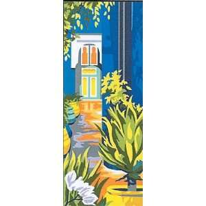 LE JARDIN NEEDLEPOINT CANVAS DESIGN Arts, Crafts & Sewing