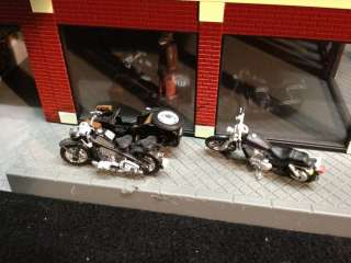 MTH Harley Davidson Motorcycle Dealership 30 90111 O Scale 2005 Model
