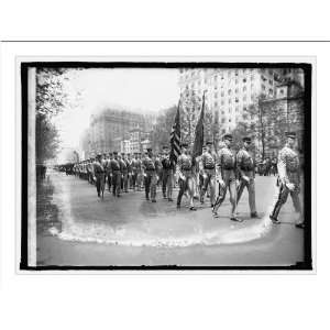 Historic Print (L) Grant Parade, West Point boys, 4/27/22