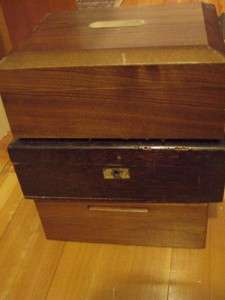 Vintage Wood Cigar Boxes Humidors