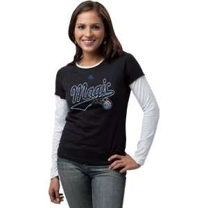 Orlando Magic Womens Out Of Bounds Long Sleeve Tissue T