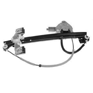 /Isuzu/Oldsmobile Driver Side Rear Power Window Regulator with Motor