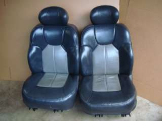99 04 jeep grand cherokee overland limited leather front & rear seats