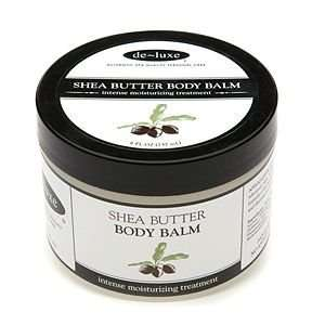 de luxe Shea Butter 25% Body Balm, 8 oz Beauty