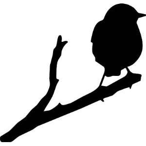 Bird on Branch Decal 1, Car, Truck Wall Sticker   Made In USA size 13