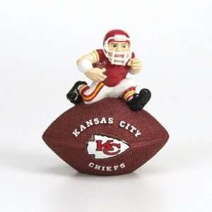 BSS   Kansas City Chiefs NFL Resin Football Paperweight (4
