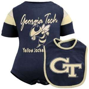 Georgia Tech Yellow Jackets Infant Navy Blue Starter