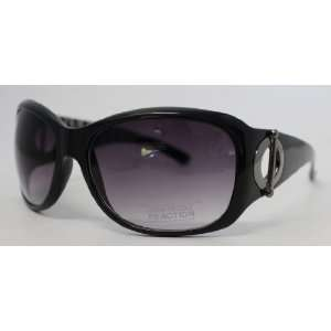 Kenneth Cole Reaction Sunglass Black Modified Rectangle Plastic