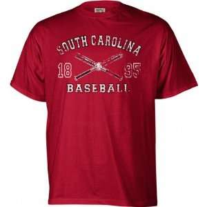 South Carolina Gamecocks Legacy Baseball T Shirt