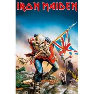Iron Maiden   Music Poster (Trooper) (Size 24 x 36)