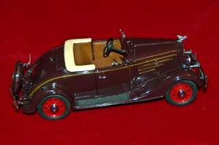 DANBURY MINT DIE CAST EXACT REPLICA 124 CHEVROLET 1935 AS IS/PARTS