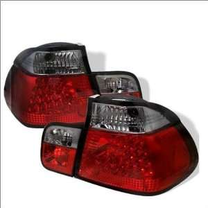 Spyder LED Euro / Altezza Tail Lights 99 01 BMW 320i