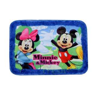 NEW Mickey Mouse & Minnie Soft Home Bath Rug Mat Floor Carpet