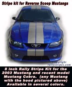 MUSTANG COBRA 1999   2012 Rally Racing Stripes 8 x 30   6 colors