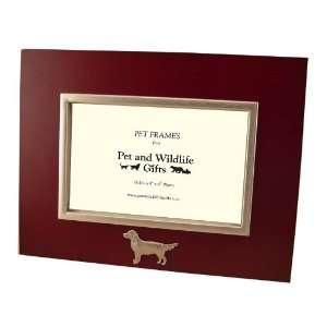 Unique Golden Retriever Dog Landscape (Horizontal) Photo Frame