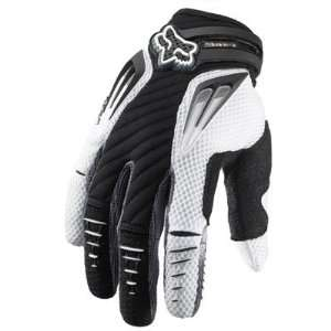 Fox Racing Platinum Gloves 2012 Medium Black Automotive