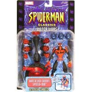 Spider Man Classics Water Wars Web Cannon Spider Man