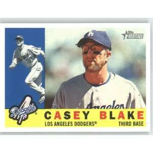 Casey Blake / Los Angeles Dodgers   2009 Topps Heritage
