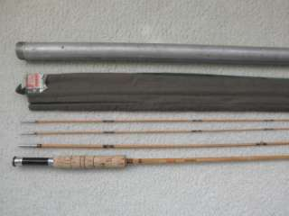 VINTAGE SOUTH BEND 323 8 1/4 SPLIT BAMBOO FLY FISHING ROD