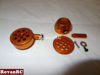 scale CNC orange aluminum light pods HPI Baja 5b buggy, 5t truck NICE