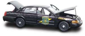 Michigan State Police Trooper 06 Ford GearBox SLICKTOP