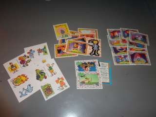 Lot of 26 Doug Rugrats Ren & Stimpy Topps Trading Cards 1993 Tattoos