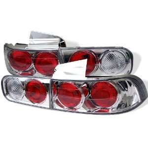 94 01 Acura Integra 4Dr Euro Taillights   Chrome