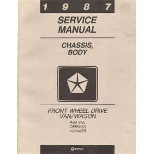 Wheel Drive Van/Wagon Service Manuals (Dodge Caravan, Dodge Mini Ram
