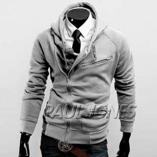 Slim Fit Mens Jackets Coats 4Colors 4Size male hoodies style in trends