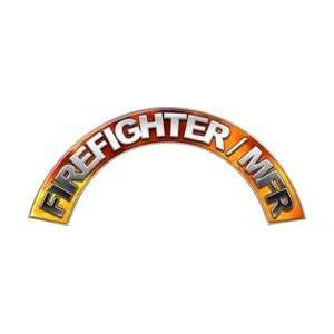 Firefighter MFR Real Fire Firefighter Fire Helmet Arcs / Rocker Decals