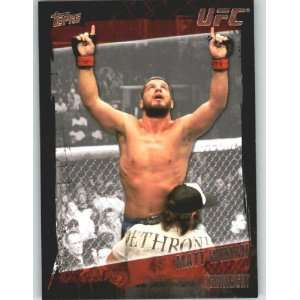 2010 Topps UFC Trading Card # 128 Matt Wiman (Ultimate