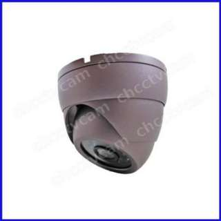 HD Sony CCD Security CCTV Waterproof IR Dome Color Camera