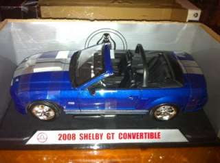 FORD SHELBY COBRA GT 08 CONVERTABLE1/18 SCALE DIE CAST