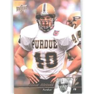 2011 Upper Deck Football Trading Card # 10 Mike Alstott