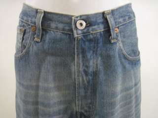 REPLAY Mens Denim Straight Legged Jeans Size 36 X 34