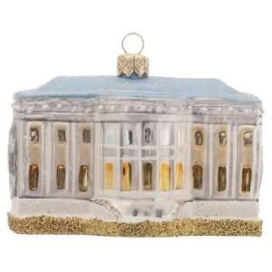 Personalized White House Christmas Ornament