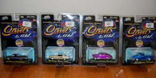 HUGE Lot of 8 JADA TOYS Street Low 164 Scale Lowrider Series Diecast