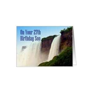 Birthday ~ Son ~ 27th ~ Niagara Falls Canada Card Toys & Games