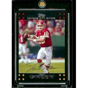 Topps Football # 24 Trent Green   Kansas City Chiefs   NFL Trading