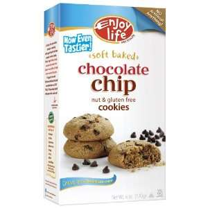 Enjoy Life Cookie,Chocolate Chip, Gluten Free 6 oz. (Pack of 6