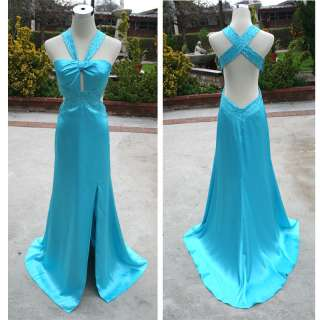 NWT BLONDIE NITES $170 Turquoise Prom Party Gown 9